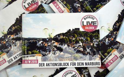 """Aktionsblock """"Marburg live erleben"""" und """"Studiblatt Extrasatt"""""""
