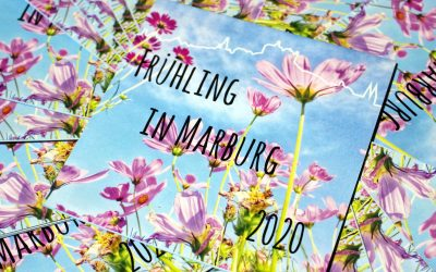 Frühling in Marburg wie geplant verteilt