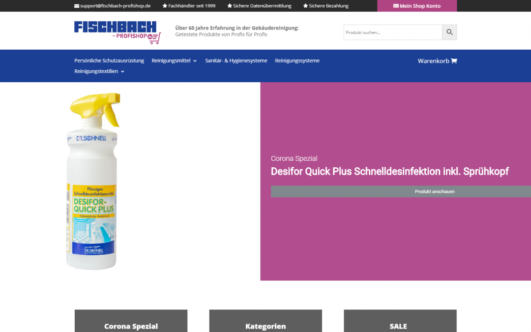 Launch fischbach-profishop.de