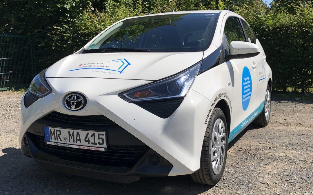 Fahrzeugfolierung – Marburger Altenhilfe