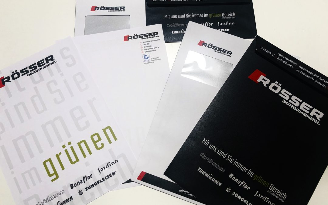 Neues Corporate Design für Agrarhandel Rösser