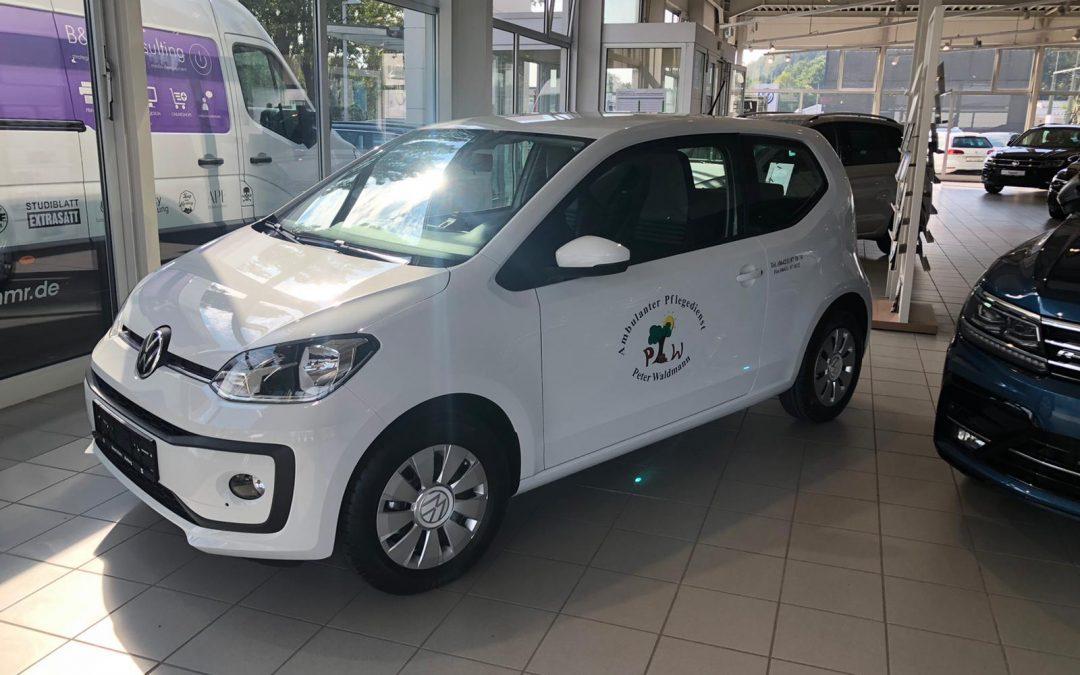 Fahrzeugbeschriftung Ambulanter Pflegedienst