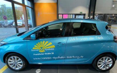 Fahrzeugfolierung  Sonnen-Apotheke