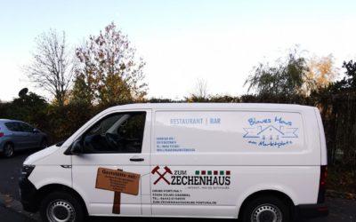 Fahrzeugfolierung – Blaues Haus & Zum Zechenhaus