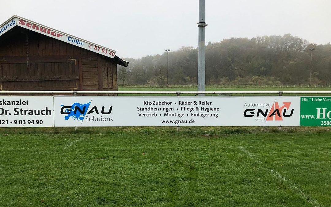 Werbebande – Gnau Soulution & Automotive Gnau GmbH