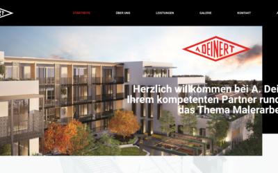 Webdesign – A. Deinert GmbH & Co. KG