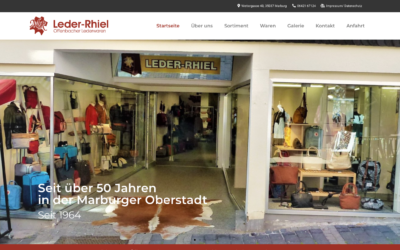 Webdesign – Leder-Rhiel