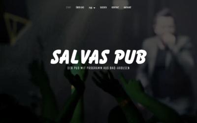 Webdesign – Salvas Pub
