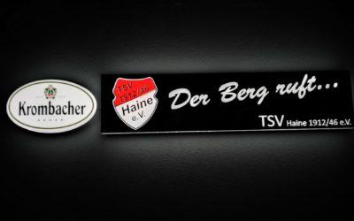 Neue Aussenwerbung – TSV Haine